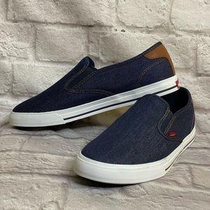 Levis Slip-on Sneaker Shoes Sz 10 Mens New